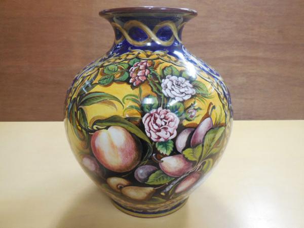 イタリア製Ente Ceramica Faenza 花瓶