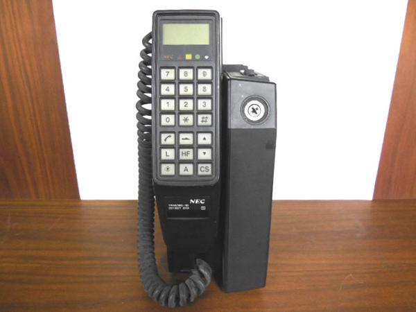 初期携帯電話 NEC TR4E180-1D