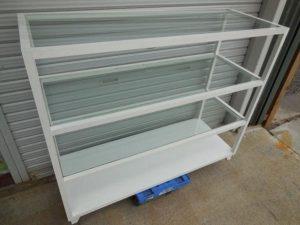 店舗什器シンプル3段棚 シェルフ