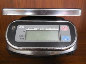 A&D防水デジタルはかり SK-1000WP